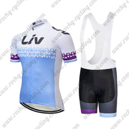 2018 Team LIV Womens Pro Cycle Wear Riding Jersey and Bib Shorts ... c82b9ad26