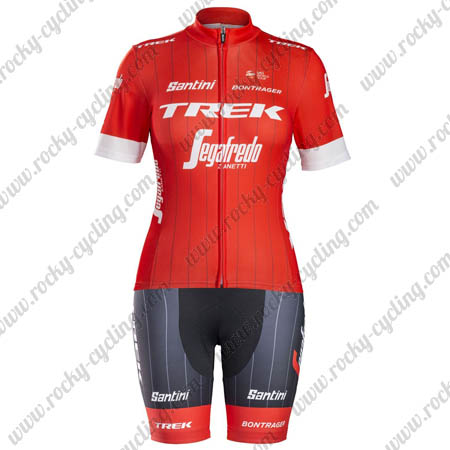 2018 Team TREK Segafredo Womens Riding Apparel Set Cycle Jersey and ... 9f4910c11