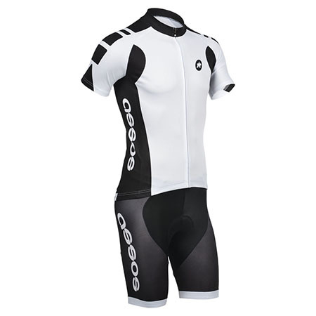 967c7174a 2014 Team ASSOS Pro Bike Clothing Set Cycle Jersey and Shorts White ...