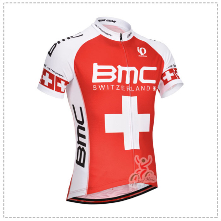 2014 Team BMC Pro Bike Clothing Set Cycle Jersey and Shorts Red ... 1d5d557ff