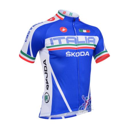 2013 Team Castelli ITALIA SKODA Pro Cycle Clothing Riding Jersey ... 2b3815dc5