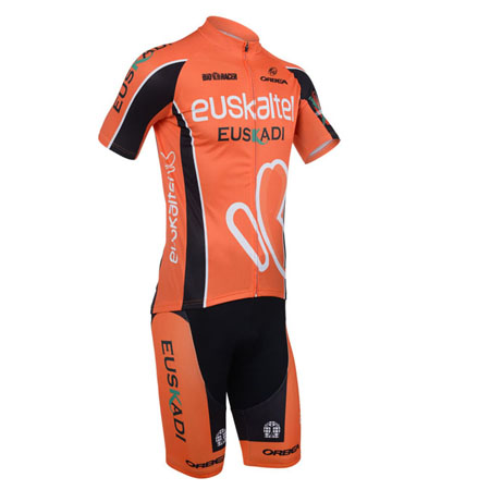 2013 Team EUSKALTEL Pro Bike Apparel Cycle Jersey and Shorts ... 960d8f29c