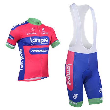 2013 Team Lampre MERIDA Pro Cycle Apparel Biking Jersey and Bib ... da1a0538d