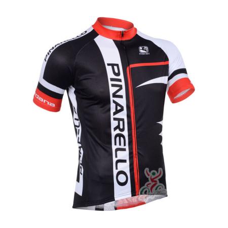 2013 Team PINARELLO Pro Riding Apparel Biking Jersey Black Red ... f388f96db