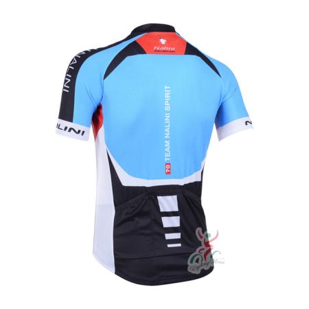 2013 Team NALINI Pro Riding Apparel Biking Jersey Blue Black ... 689175857