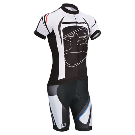 2014 Team Giordana Riding Clothing Set Cycle Jersey and Shorts Black ... 7ec50bc7a