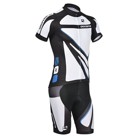 2014 Team Giordana Riding Clothing Set Cycle Jersey and Shorts White ... 14e09ad30