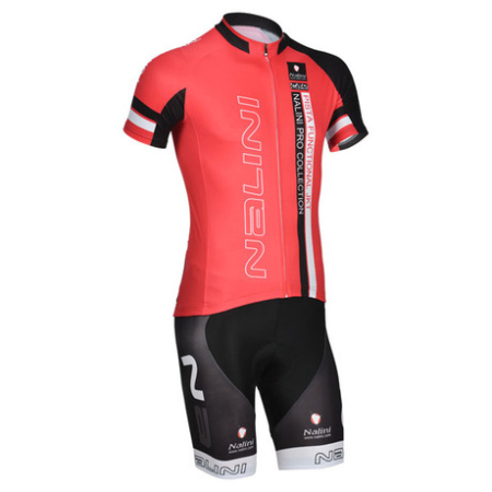 778cd52f7 2014 Team NALINI Riding Clothing Set Cycle Jersey and Shorts Red ...