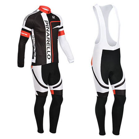 2013 Team PINARELLO Pro Biking Apparel Riding Long Jersey and Bib ... 5ec21884f