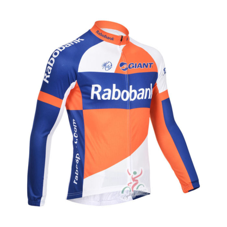 2013 Team Rabobank Pro Bicycle Clothing Riding Long Jersey ... adfc47537