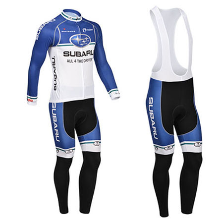 2013 Team SUBARU Pro Biking Apparel Riding Long Jersey and Bib Pants ... e869b295e