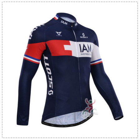0f3832699 2014 Team IAM scott Pro Winter Riding Outfit Thermal Fleece Cycle ...