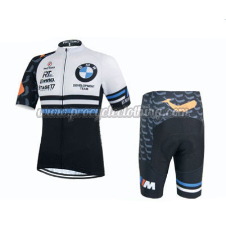 2015 BMW Development Team Pro Riding Apparel Cycle Jersey and Shorts ... f3c9b5c0e