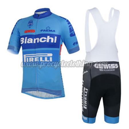 2014 Team Bianchi PIRELLI Bicycle Kit Pro Biking Clothing Cycle ... 6bfb6e0d1