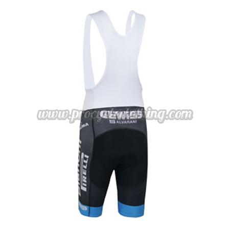 2014 Team Bianchi PIRELLI Pro Biking Clothing Cycle White Bib Shorts ... e7f3fd259