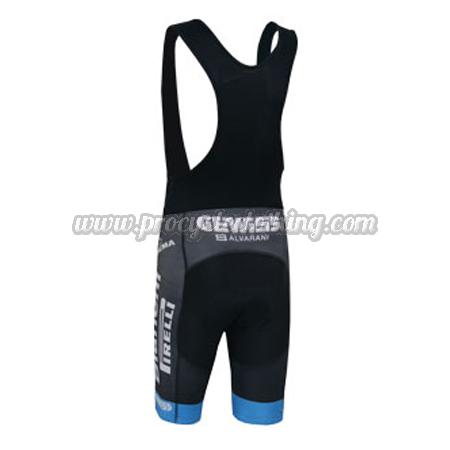 2014 Team Bianchi PIRELLI Pro Biking Clothing Cycle Black Bib Shorts ... 74e78ea23