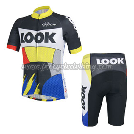 2014 Team LOOK Bike Pro Biking Clothing Summer Winter Cycle Jersey ... 45bfbc9bc
