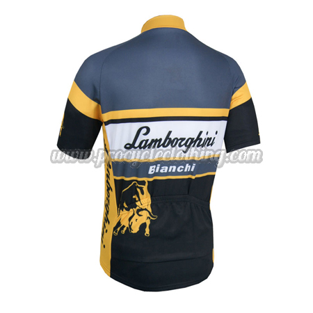 2014 Team Lamborghini Bianchi Cycling Jersey · 2014 Team Lamborghini  Bianchi Biking Jersey 3af5baf32