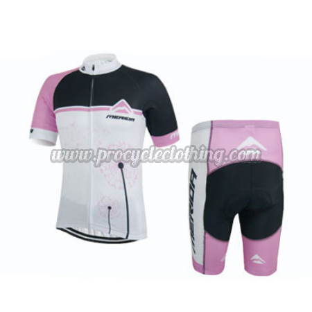 69ff73a60 2015 Team MERIDA Pro Riding Apparel Cycle Jersey and Shorts White ...