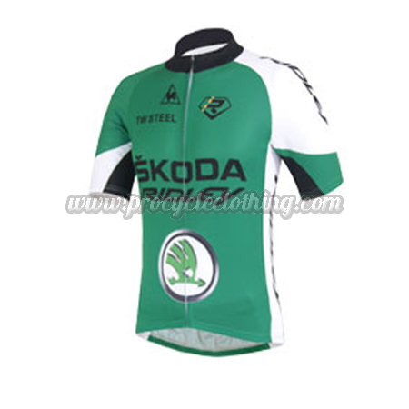 2013 Team SKODA RIDLEY Pro Riding Apparel Summer Winter Cycle Shirt ... bd2929777