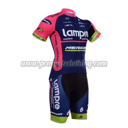 2015 Team Lampre MERIDA Pro Bike Clothing Set Cycle Jersey and ... a7b2f6587
