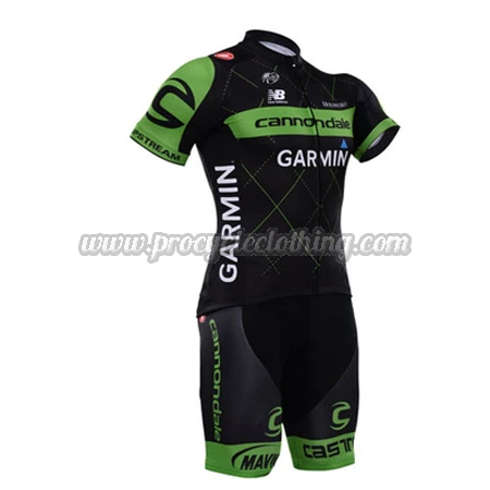 a907fe594 2015 Team Cannondale GARMIN Pro Bike Clothing Set Cycle Jersey and ...