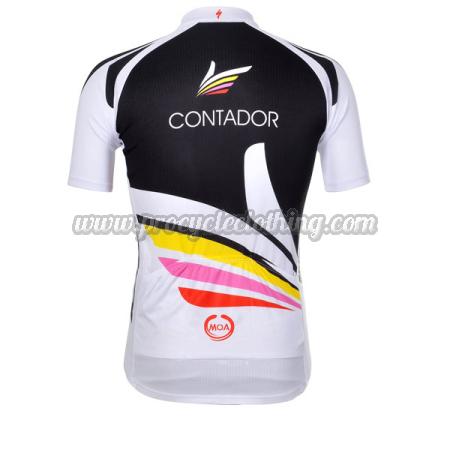 e2ae53aeb 2012 Team CONTADOR Pro Bicycle Apparel Riding Jersey