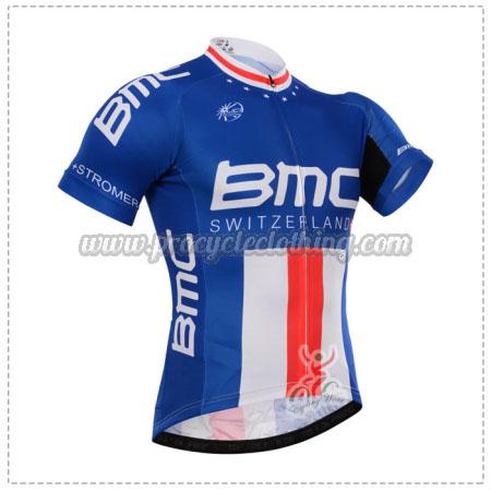 2015 Team BMC Pro Bicycle Apparel Riding Jersey Blue  d650778da