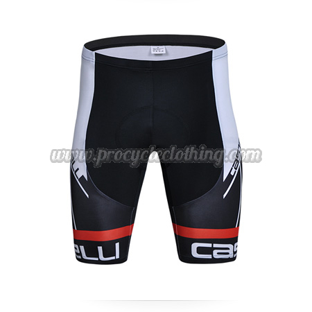e5f0fc6bb41b6 2015 Team CASTELLI Pro Biking Clothing Cycle Shorts Black ...