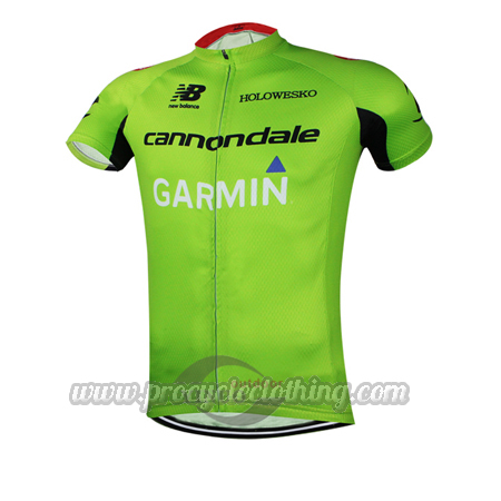 0e25d2b6a3a 2015 Team GARMIN cannondale Pro Bicycle Apparel Riding Jersey Green ...