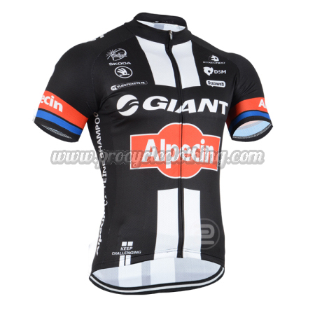 2015 Team GIANT Pro Bicycle Apparel Riding Jersey Black Red ... 5dada8842