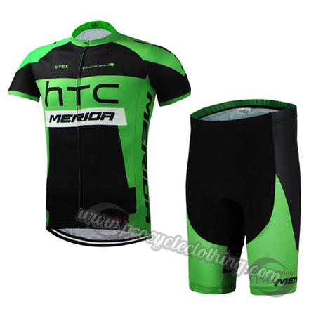 7298b995e 2015 Team HTC MERIDA Pro Bike Clothing Set Cycle Jersey and Shorts ...