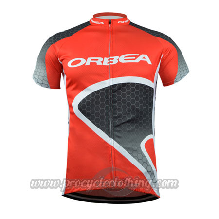 2015 Team ORBEA Pro Bicycle Apparel Riding Jersey Red  19b51c181