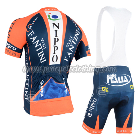 2015 Team VINI FANTINI NIPPO Pro Bike Wear Cycle Jersey and Bib ... e367e7b5e