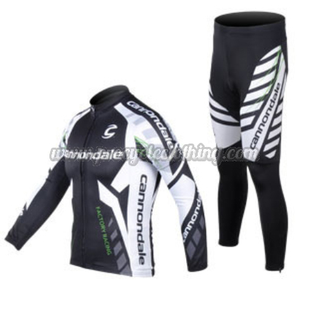 55409c2d3 2012 Team CANNONDALE Pro Riding Outfit Cycle Long Jersey and Pants ...