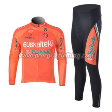 2012 Team Euskaltel EUSKADI Pro Riding Outfit Cycle Long Jersey and ... 0b8d25365