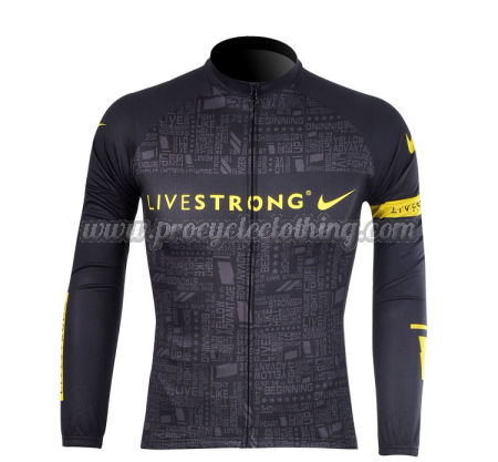 2012 Team LIVESTRONG Pro Winter Riding Outfit Thermal Fleece Cycle ... ceee49bd6