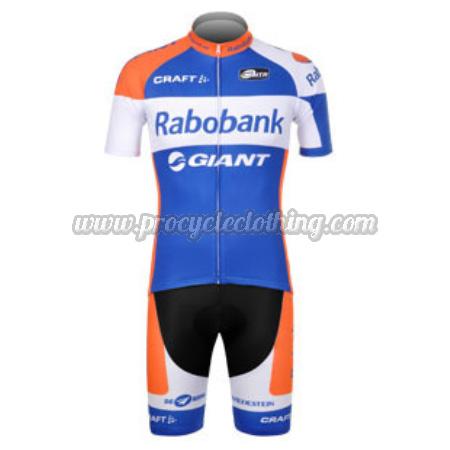 2012 Team Rabobank Pro Bike Clothing Set Cycle Jersey and Shorts ... 774780c09