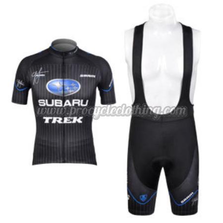 2012 Team SUBARU Pro Bike Wear Cycle Jersey and Bib Shorts Black ... b2b61b028