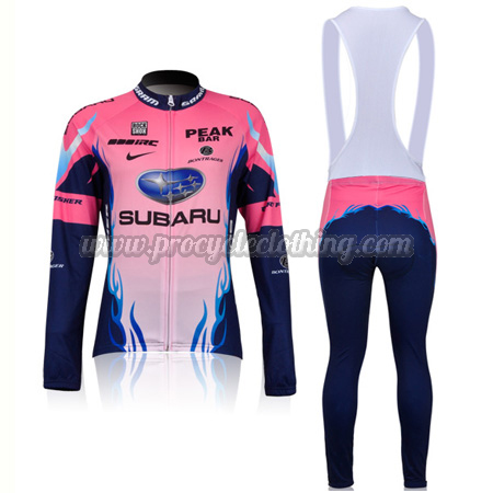 2011 Team SUBARU Women s Cycling Clothing Suit Riding Jersey and Bib ... 78afe2810