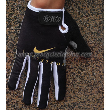 2012 Team LIVESTRONG Winter Bicycle Accessories Full Finger ... 3660586fc