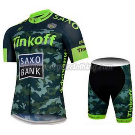 2015 Team Tinkoff SAXO BANK Pro Bike Clothing Set Cycle Jersey and ... 5ab1ebb60