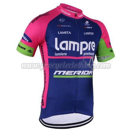 f6fb3b4b1 2016 Team Lampre MERIDA Pro Bicycle Apparel Riding Jersey ...