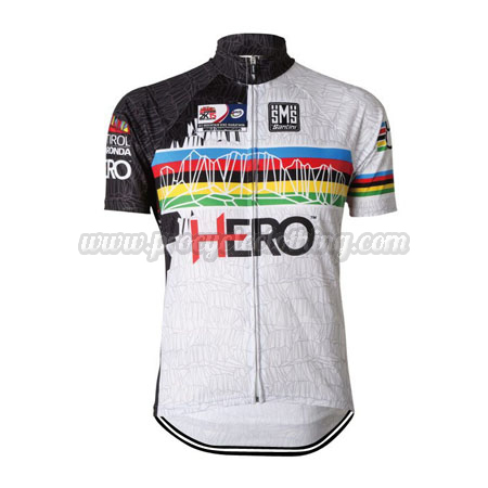 2015 Team Santini HERO UCI Champion Bicycle Apparel Riding Jersey ... fc19cd0b9