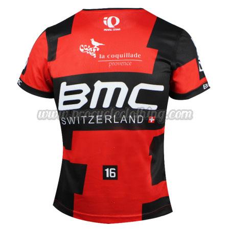 8e575fb6620 ... 2016 Team BMC Outdoor Sport Apparel Cycling Sweatshirt Round Neck T-shirt  Red Black