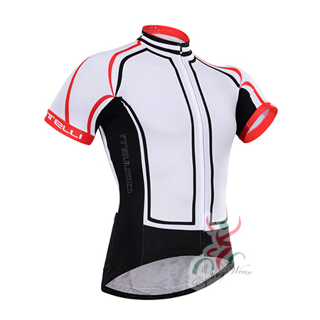 2015 Team Castelli Pro Bicycle Apparel Riding Jersey Maillot Shirt ... 83caea52f