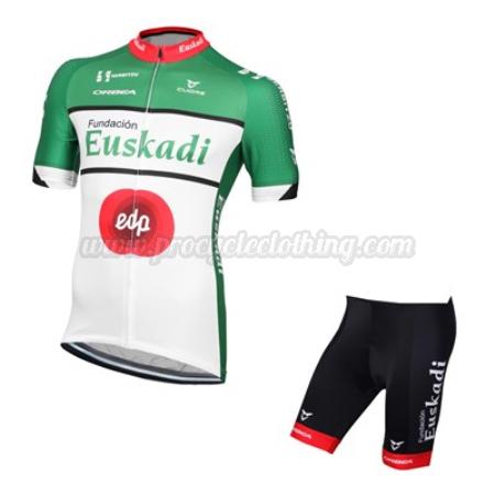 76c793789 2016 Team Euskadi edp Pro Bike Clothing Set Cycle Jersey and Shorts ...