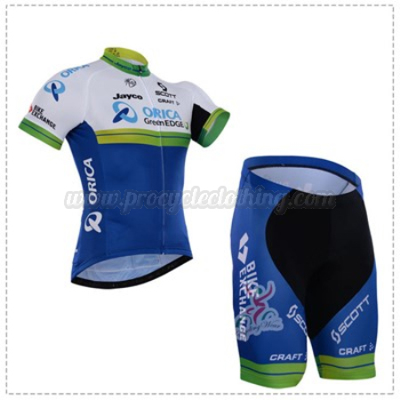 2016 Team ORICA GreenEDGE Pro Bike Clothing Set Cycle Jersey and ... fbf21f922