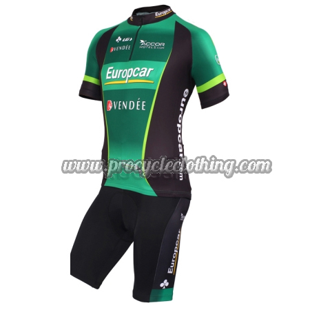 2012 Team Europcar Vendee Pro Biking Clothing Summer Winter Cycle