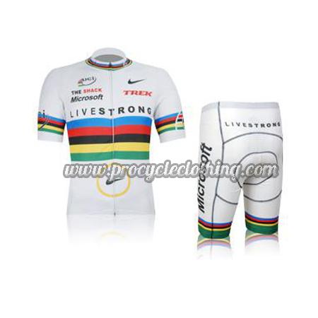 2012 Team LIVESTRONG UCI Champion Biking Clothing Summer Winter ... b462241d7